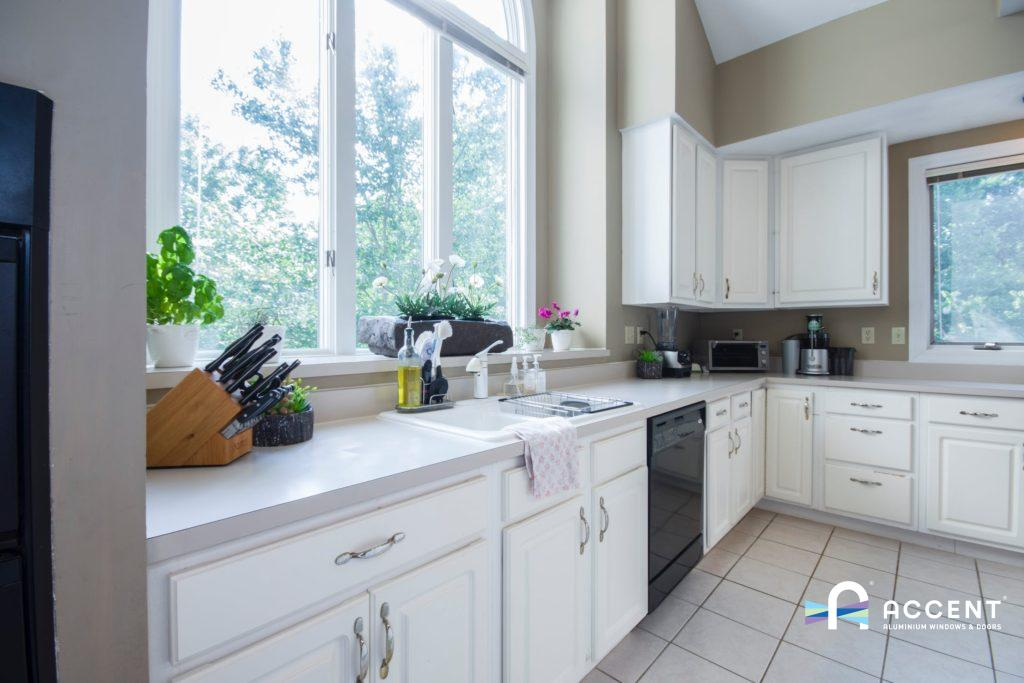 double glazed kitchen windows